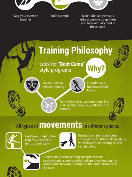 Free infographic – Ultimate Guide to Obstacle Course Racing Infographic