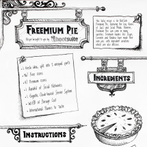 Freemium Pie Infographic