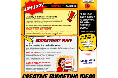 Frugal Living Handbook - Chapter 1 Infographic