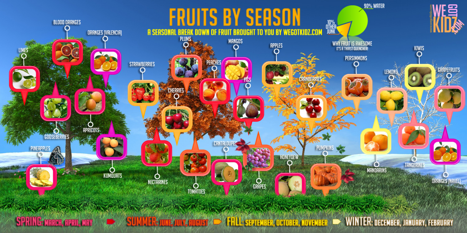 fruit seasons king of fruits