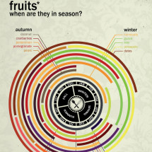 Fruits: When Are They in Season? Infographic