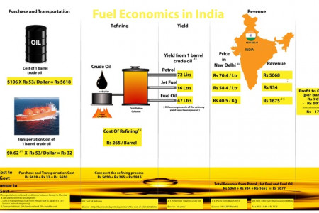 Fuel Economics in India Infographic