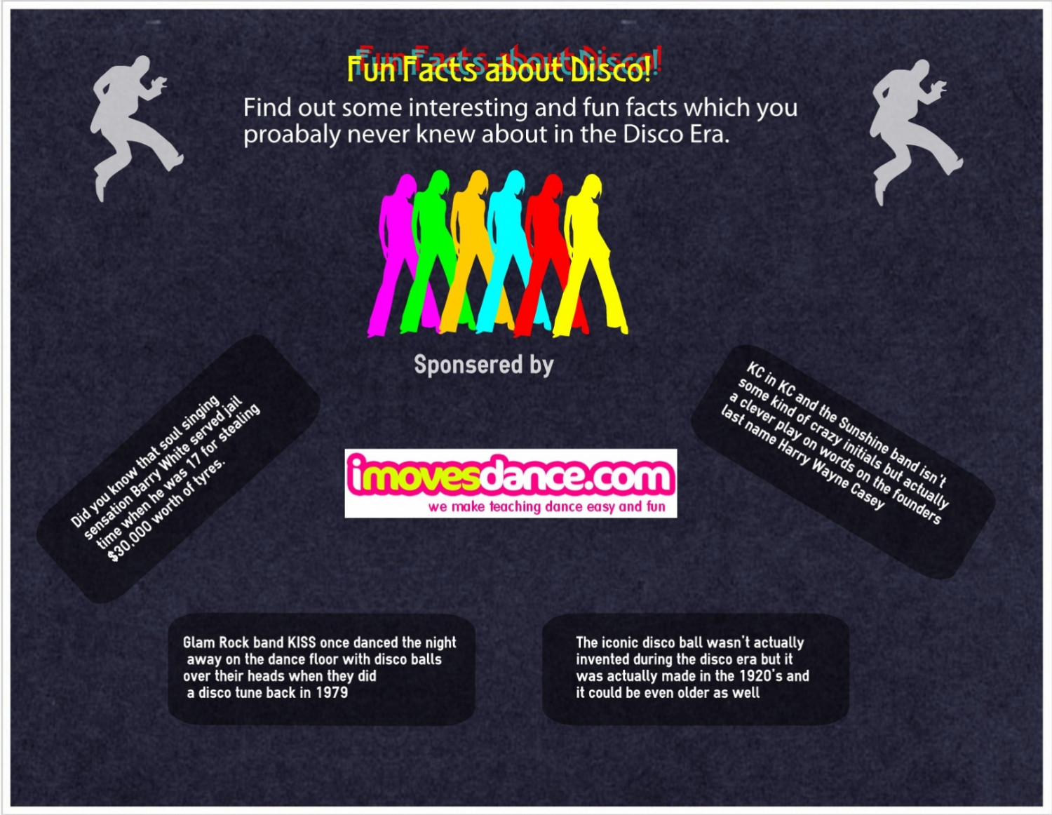 Fun facts about Disco Infographic