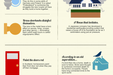 Fun Facts About Homes Infographic