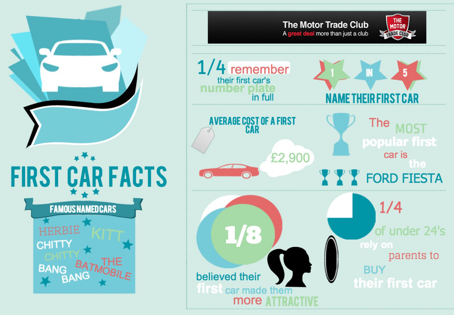 Fun First Car Facts Infographic