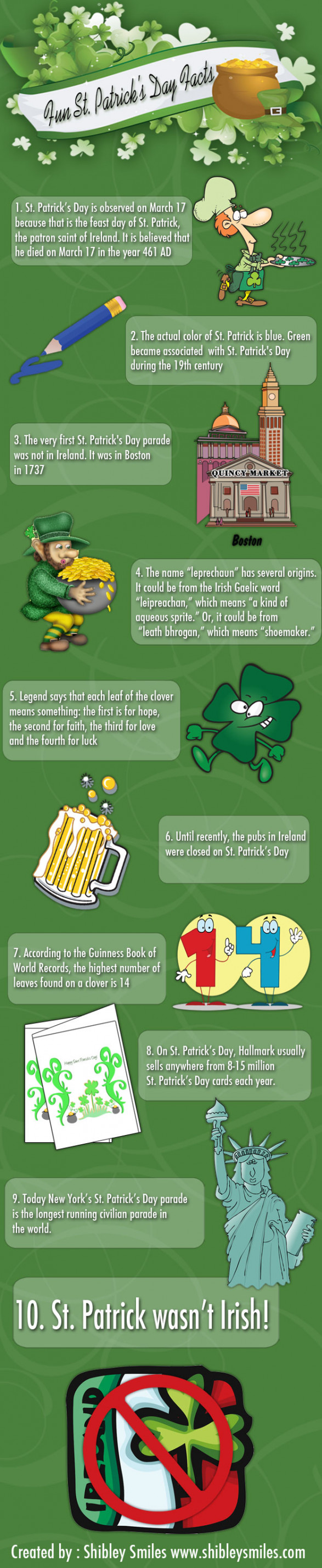 fun st patricks day facts 5029154eb38c1 w587 Fun St. Patricks Day Facts