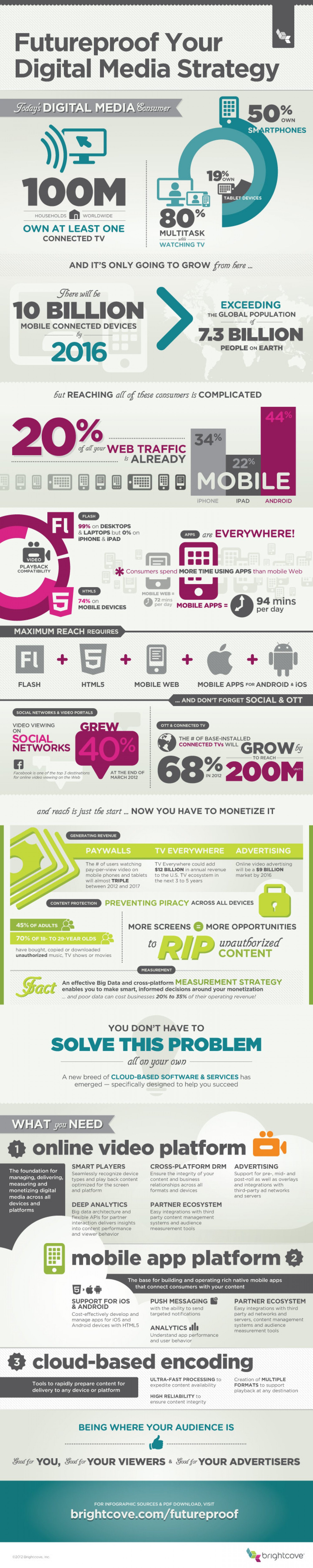 Futureproof Your Digital Media Strategy Infographic