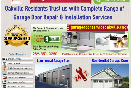 Garage Door Repair Oakville Infographic