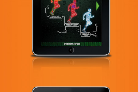 Gatorade Science Info graphic APP Infographic