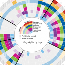 Gay rights in the US, state by state Infographic