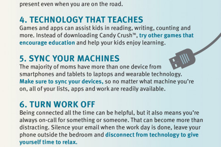 Geek Chic: Working Moms Who Rule Infographic