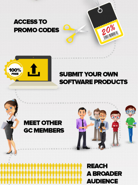 Benefits of Joining Geeky Corner Infographic