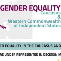 Gender Equality: Caucasus & Western CIS Infographic