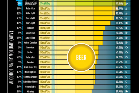 Get Drunk, Not Fat Infographic