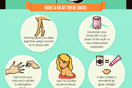 Get Gorgeous Now: Six Amazing Beauty Hacks Infographic
