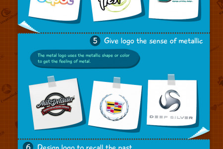 Get Logo Design Inspiration from Logo Styles and Logotypes Infographic