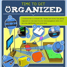 Get Your Electronics Organized Infographic