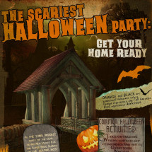 Get your Home Ready for Halloween Infographic
