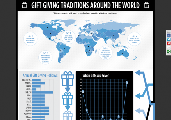 Gift Giving Traditions Around The World (Interactive Map)