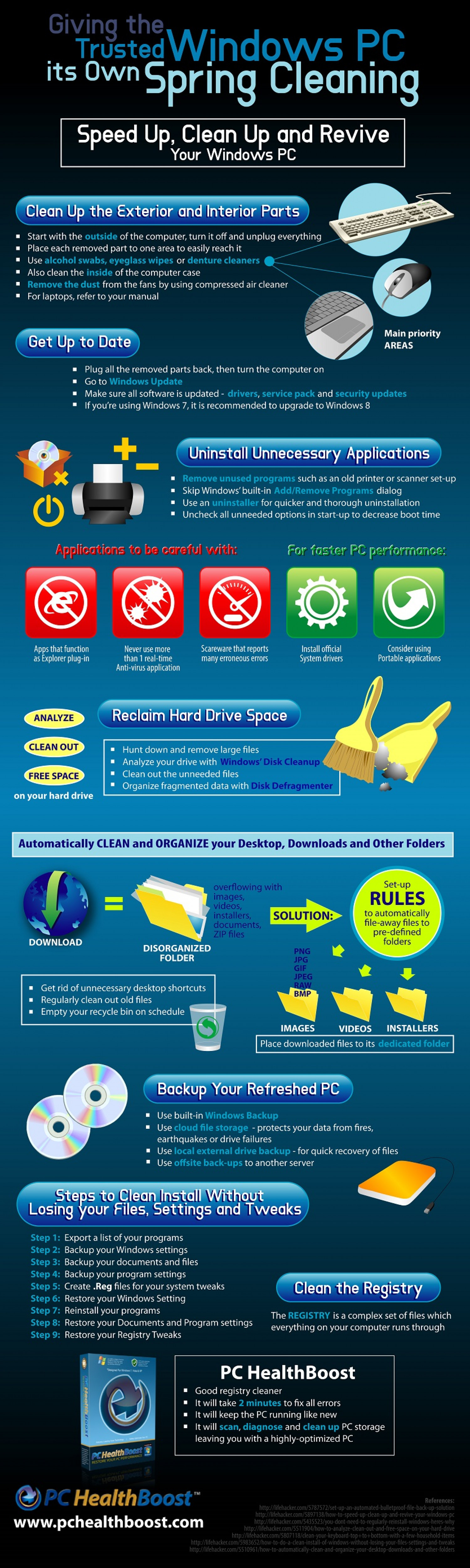 Giving the Trusted Windows PC its Own Spring Cleaning Infographic
