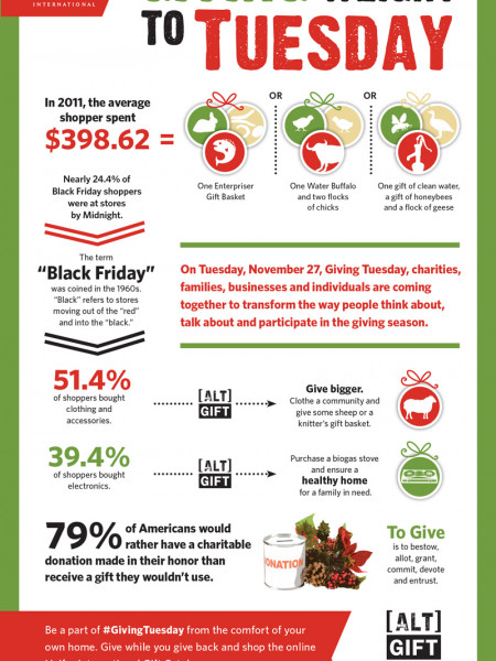 Giving Tuesday Infographic Infographic