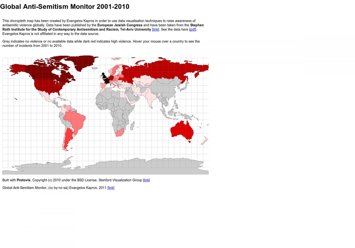 Global Anti-Semitism Monitor Infographic
