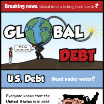Global Debt Infographic