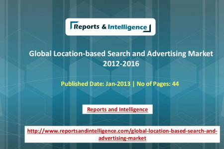 Global Location-based Search and Advertising Market � Reports and Intelligence Infographic