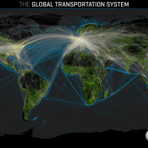 Global Transportation System Infographic