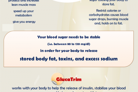 GlucaTrim: The Power of Blood Sugar Stabilization Infographic