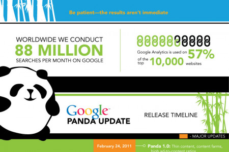 Google Panda Update Up Close Infographic