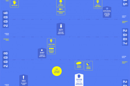 Google Search History Infographic