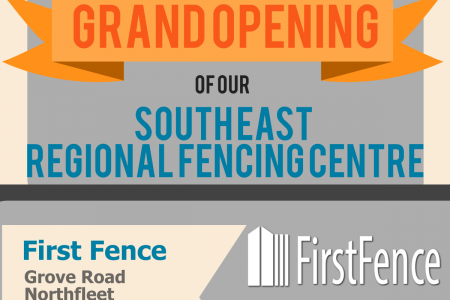Grand Opening of our South East Regional Fencing Centre Infographic