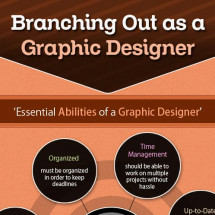 Branching Out as a Graphic Designer Infographic