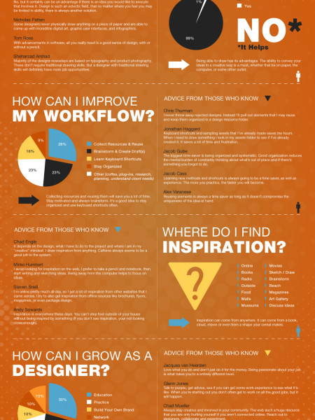 Graphic Designers Road Map Infographic