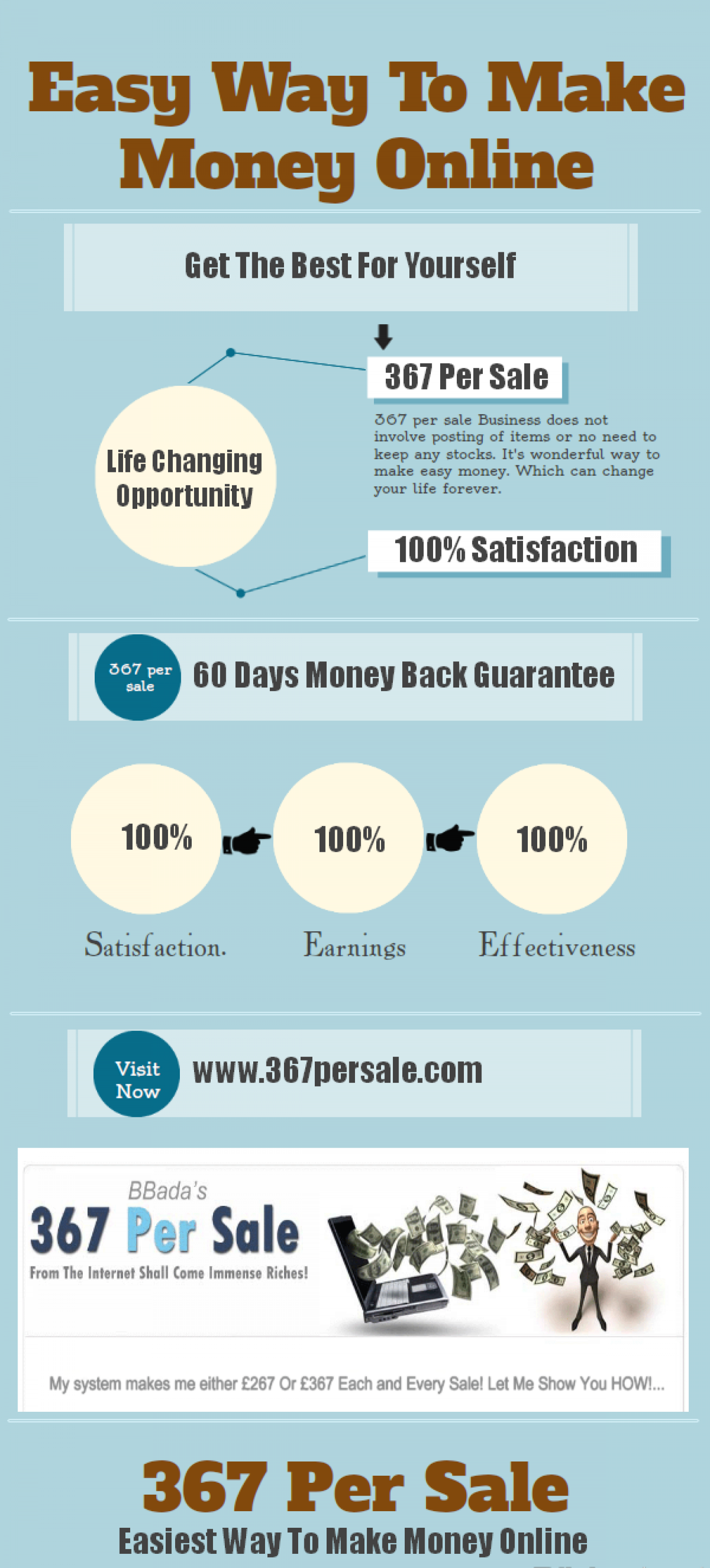 Great Way To Make Money Infographic