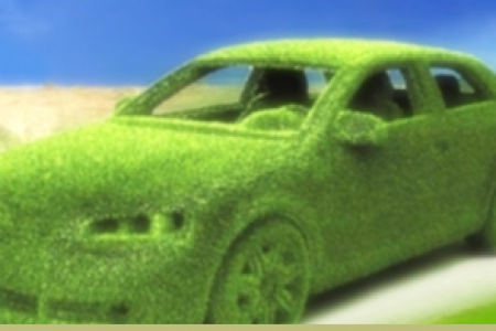 Green Car Dashboard Infographic