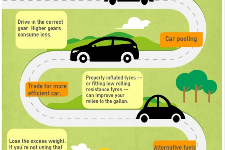 Green Driving Practices Infographic