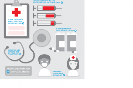 Guardian Healthcare Survey 2014 Infographic