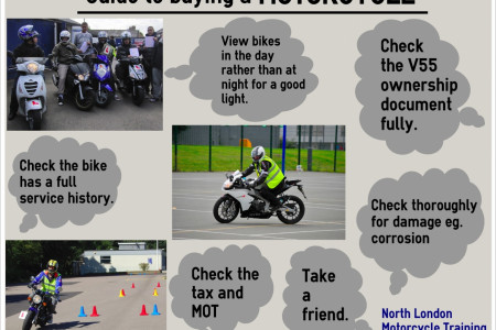 Guide to Buying a Motorcycle Infographic