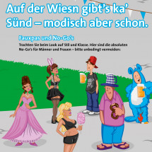 Gut gestylt auf die Wiesn Infographic