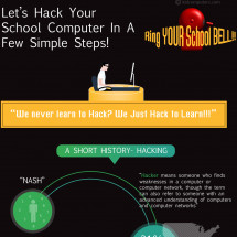 Hack Your School Computer In A Few Simple Steps! Infographic