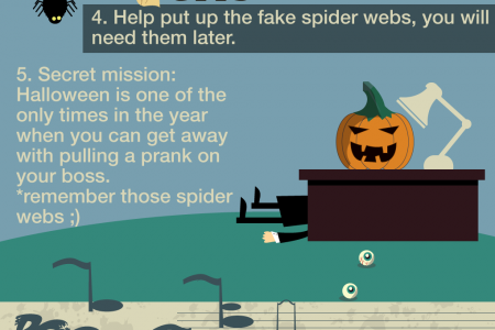 Halloween Office Spirit Kit Infographic