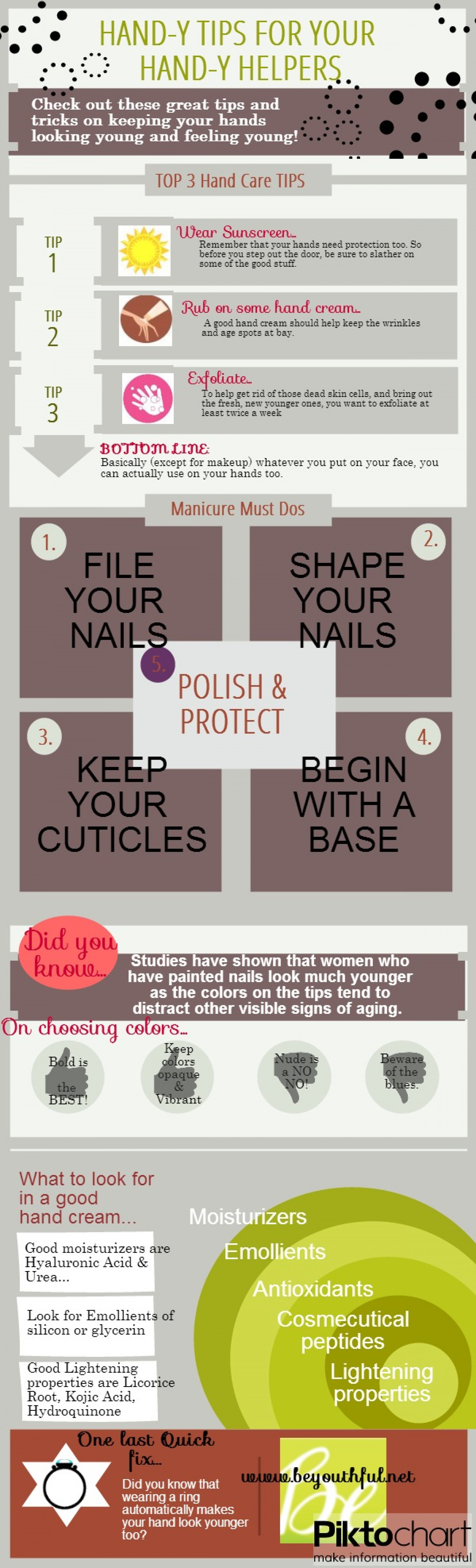 HAND-y Tips for your HAND-y Helpers Infographic