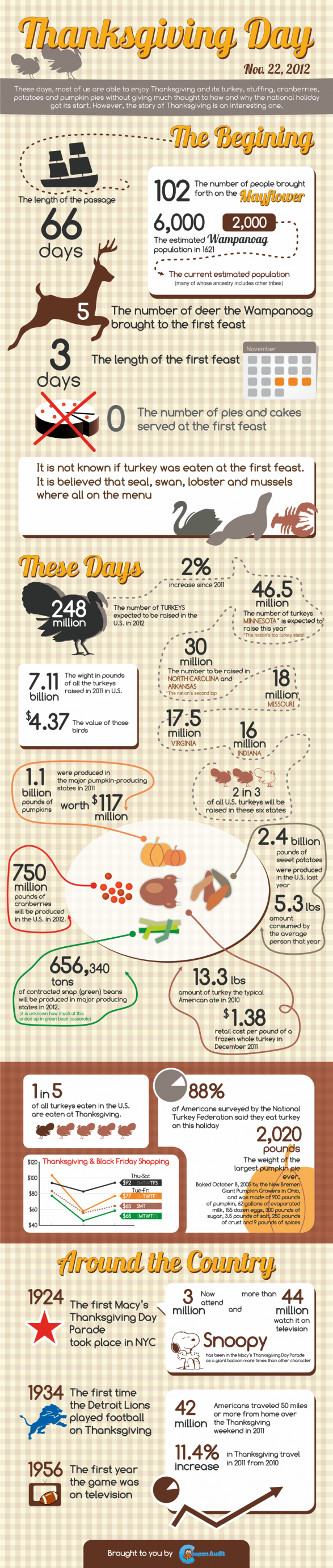 Happy Thanksgiving [Infographic]