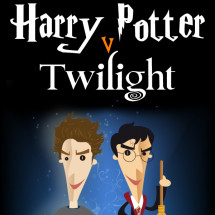 Harry Potter Vs Twilight Infographic