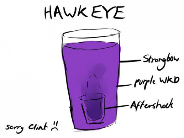 Hawk Eye Cocktail
