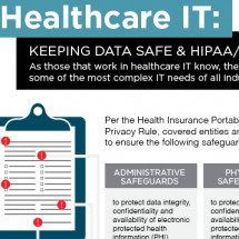 Healthcare IT: Keeping Data Safe  Infographic
