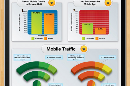 Healthcare Mobile Usage Infographic