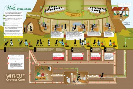 Healthcare Solutions  Infographic